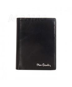 Pierre Cardin - Skórzany męski portfel czarny (331-520.1)